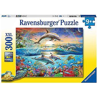 Ravensburger Dolphin Paradise XXL 300pc Jigsaw Puzzle