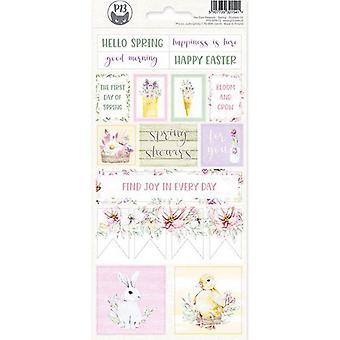 Piatek13 - Sticker sheet The Four Seasons - Spring 02 P13-SPR-12 10.5x23 cm