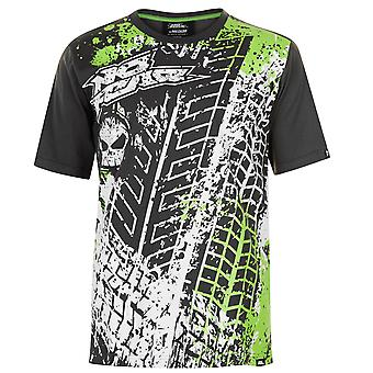 No Fear Mens Core Graphic T Shirt Short Sleeve Crew Neck Tee Top Tonal Stitching