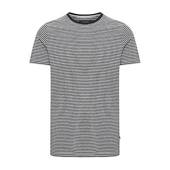 Jermane Light Grey Striped T-Shirt