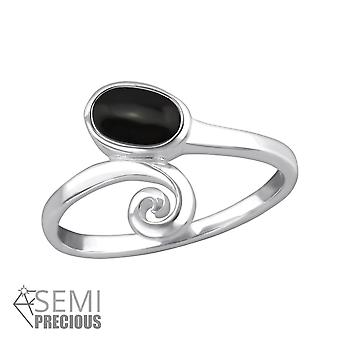 Oval - 925 Sterling Silver Jewelled Rings - W32358x