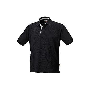 Beta 075460200 7546N /XS X/small Three-button Polo Shirt Black