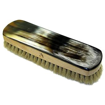 Abbeyhorn OxHorn Shoe Brush-Natural