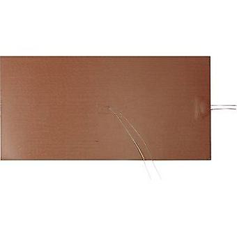 """תרמו טק סיליקון חימום רדיד דבק עצמי 230 V DC, 230 V AC 1000 W דירוג IPX7 (L x W) 400 מ""""מ x 200 מ""""מ"""
