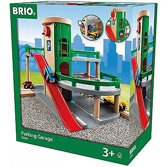 Brio BRIO 33204 Parking Garage  Wooden Road & Railway