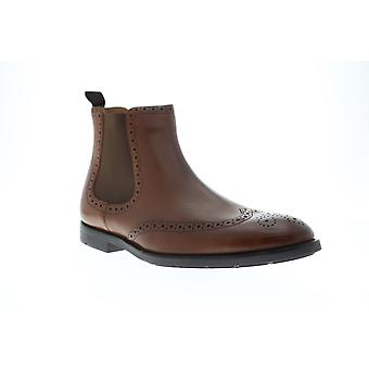 Clarks Ronnie Top  Mens Brown Leather Lace Up Chelsea Boots