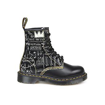 Dr. Martens Dms1460bsqbk26319009 Women's Multicolor Leather Ankle Boots