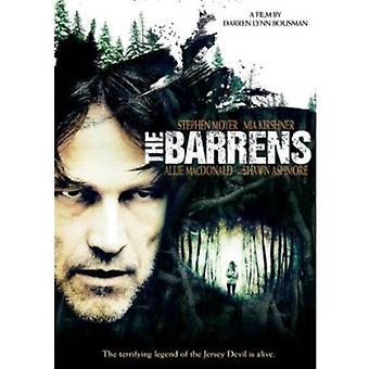 Barrens [DVD] USA import