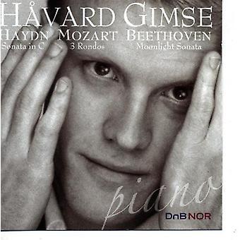 Gimse - Haydn: Sonata in C; Mozart: 3 Rondos; Beethoven: Moonlight Sonata [CD] USA import