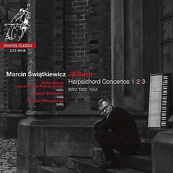 Marcin Swiatkiewicz - Bach: Harpsichord Concertos Nos.1; 2 & 3 [CD] USA import