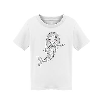 Cute Siren Tee Toddler's -Image by Shutterstock
