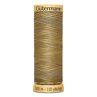 Gutermann 100 % luonnollinen puuvillalanka 100m käsi ja kone värikoodi - 1136