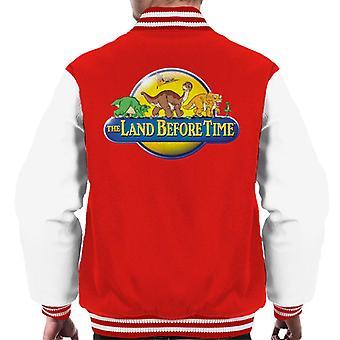 The Land Before Time Logo Men's Varsity Jacket