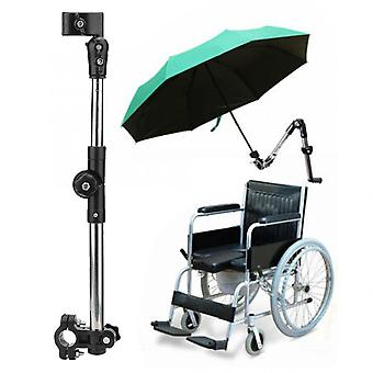 Wheelchair Stroller, Bicycle Umbrella Attachment Handle Bar Holder - Elderly