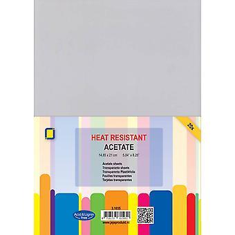 JEJE Produkt Acetate sheets heat resistant A5