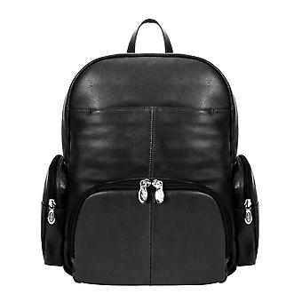 """88365, S Series Cumberland 15"""" Leather Dual Compartment Laptop Backpack"""
