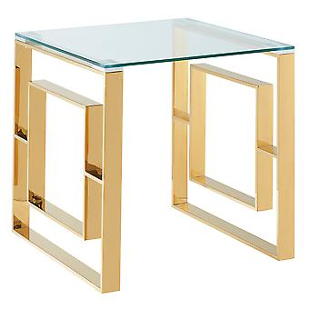 Carlos Accent Table - Silver