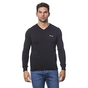 Roberto Cavalli Sport Antracite Sweater RO816035-XL