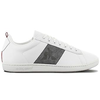 Le Coq Sportif Courtstar Craft Strap Denim - Men's Shoes White 1921629 Sneakers Sports Shoes