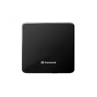 Transcend TS8XDVDS-K Extra Slim Portable DVD/RW [USB2, 8x,CD-R/RW, DVD±R, DVD±RW, DVD±R DL, DVD-R