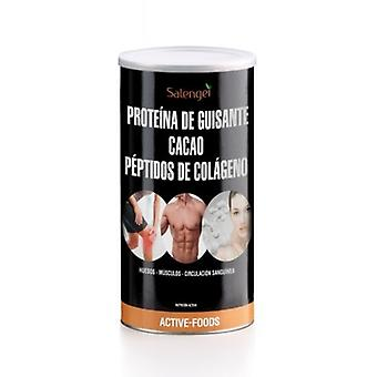 Active Foods Pea Protein, Collagen and Organic Cocoa 500 gr