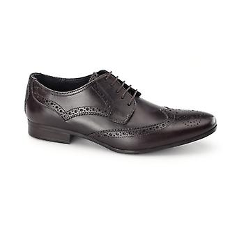 Catesby Shoemakers Richard Mens Derby Brogues Brown