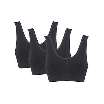Black Sports BRA 3-Pack