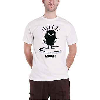 Moomins T Shirt Stinky Logo nouveau officiel Mens White