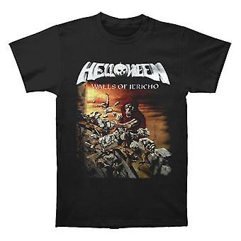 Helloween Walls Of Jericho T shirt