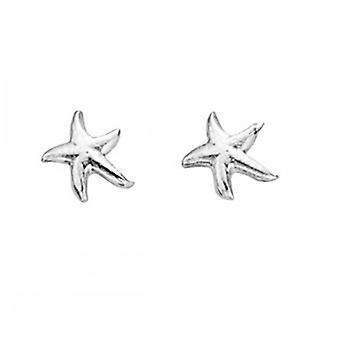 بدايات الجنيه الاسترليني الفضة A834 أقراط مسمار نجم البحر