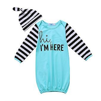 طفل حديث الولادة طفلة ملابس حمام النوم ملابس القطن النوم كيس النوم ملابس سوبر ماريو بيجامة