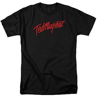 Ted Nugent Distress Logo Aikuisten T-paita