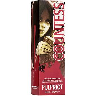 Pulp Riot Raven Collection - Semi Permanent Cruelty-free & Vegan Hair Dye - Countess 118ml