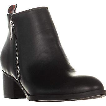 Tommy Hilfiger kvinner Ruthee Leather Almond toe ankel mote støvler