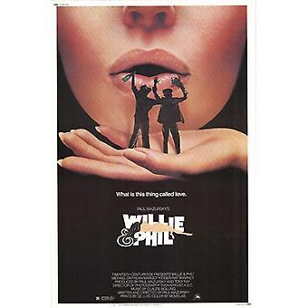 Willie & Phil Movie Poster Print (27 x 40)