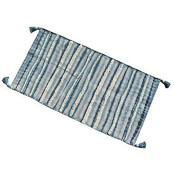 Modern Style Stripe Pattern Accent Rug