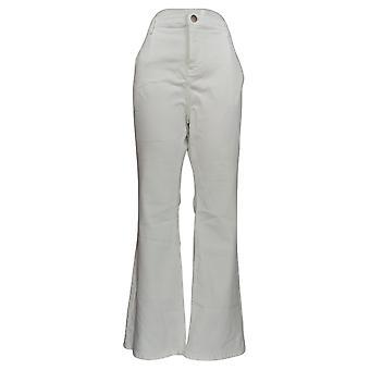 BROOKE SHIELDS Timeless Women's Jeans Timeless Flare Leg White A351363