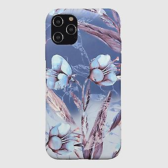 Eco Friendly Printed Floral Blue iPhone 12 Pro Max Case
