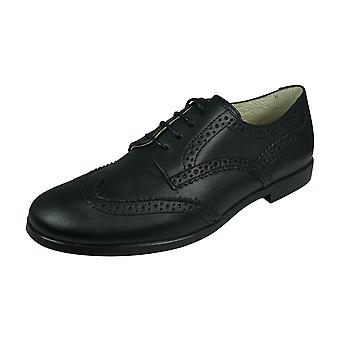 Angela Brown Bailey Kids Leather Brogue / Chaussures lacets - Noir