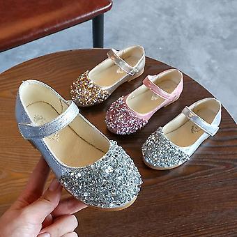 الأطفال & apos;ق الخريف الراينات الصغيرة الترتر أحذية الأميرة, الأميرة واحدة