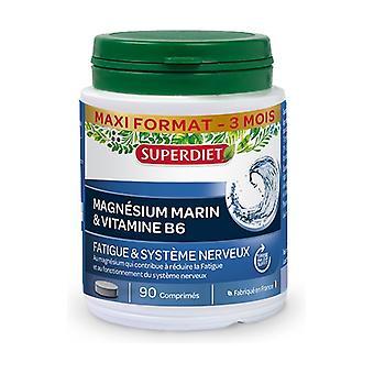 Marine magnesium - vitamin b6 90 tablets