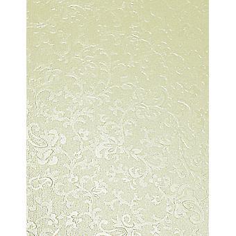 10 Ivory Applique Card Insert Size 2 (Medium