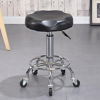 Fashion Creative Beauty, Barber Swivel Chair & Dotomy Metal Stool Bar Fashion