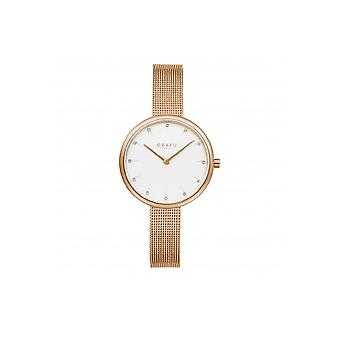Obaku Wristwatch Men's NOTAT ROSE V233LXVIMV