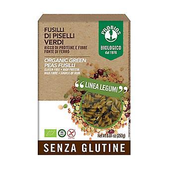 Fusilli 100% green peas None