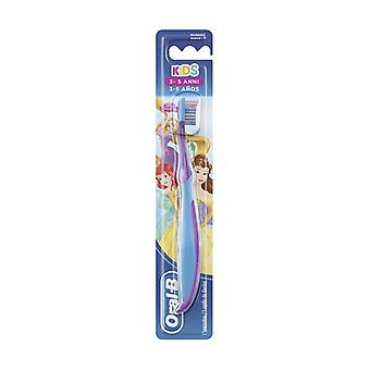 Manual toothbrush kids with princesses or car characters 1 pc