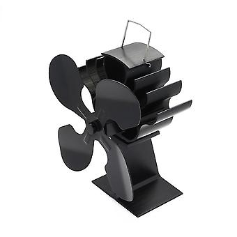 4-Blatt Heat Powered Stove Fan für Holz / Log Brenner/Kamin - Eco Heater