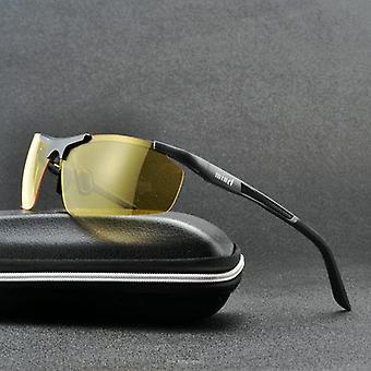 Night Vision Driving Glasses Men Driver Goggle Sunglasses For Vision Lens