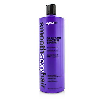 Sexy Hair Concepts Smooth Sexy Hair Sulfate-Free Smoothing Shampoo (Anti-Frizz) 1000ml/33.8oz