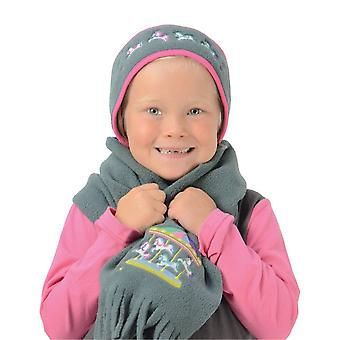 Little Rider Merry Go Round Head Band And Scarf Set